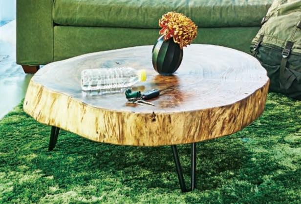 モンキーポッド リビングテーブル